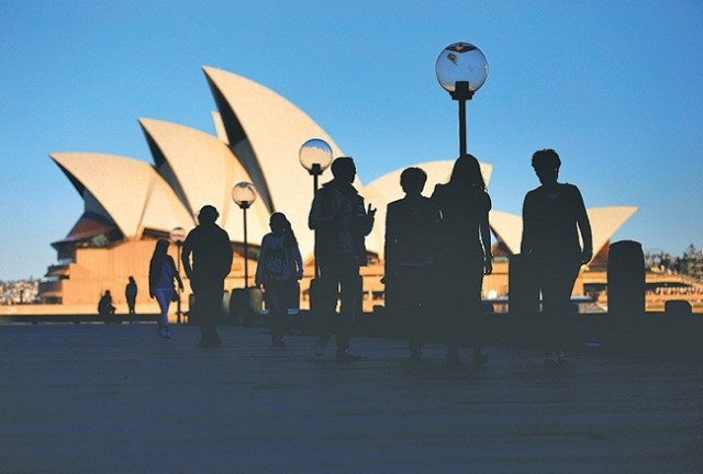 Pelancong di Australia