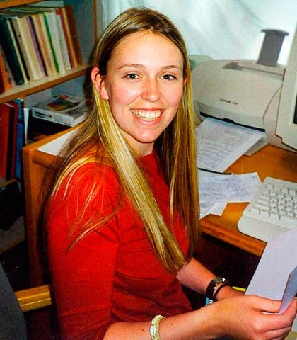 Jacinda Ardern in her early days