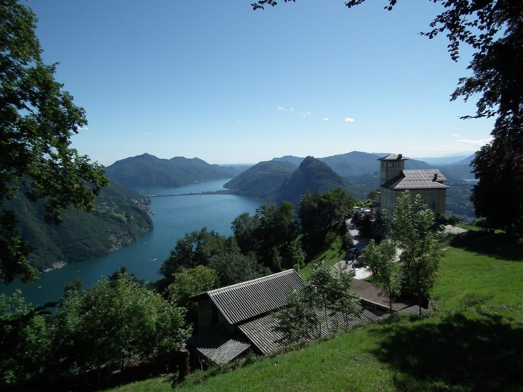 Monte Brè | Lugano: vistas increíbles de los Alpes. del lago y de la ciudad