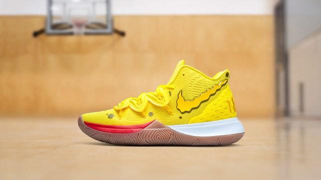 Nike X Kyrie Spongebob Squarepants