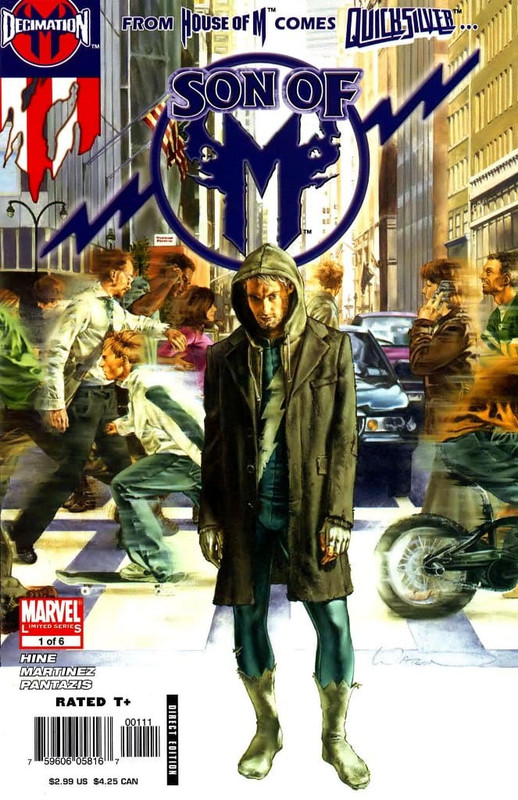 Quicksilver Son Of M [6/6] Español | Mega