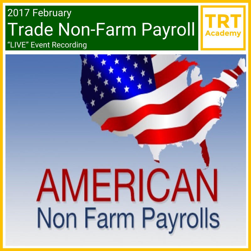 """Yes! Send Me the Video – 2017 February Trade Non-Farm Payroll """"LIVE"""" Market Learning"""