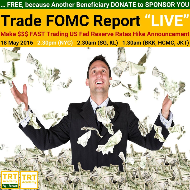 """Yes! Send Me the Video – 2016 May Trade FOMC Report """"LIVE"""""""