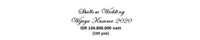 paket pernikahan jakarta lengkap wijaya kusuma murah dengan vendor berpengalaman