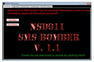 NSD SMS Bomber