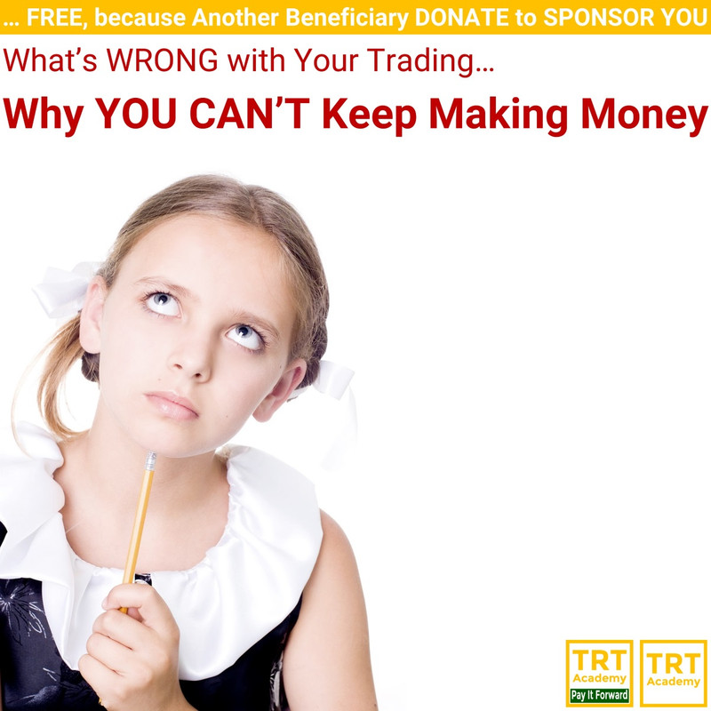 Yes! Send Me the Video – Why YOU CAN'T Keep Making Money