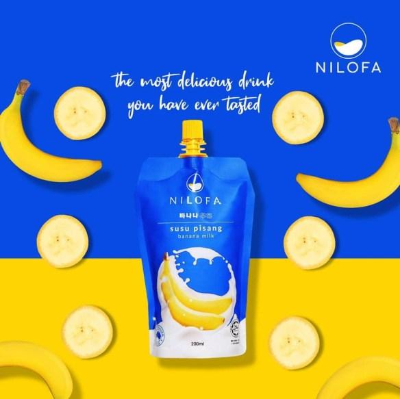 susu pisang nilofa