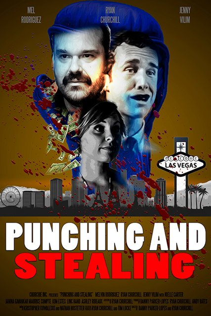 Punching And Stealing 2020 Movie Poster