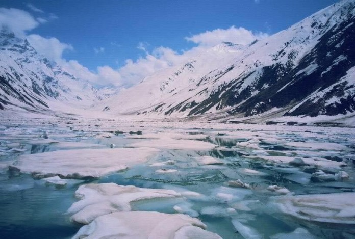 Saif ul Malook and its Glaciers