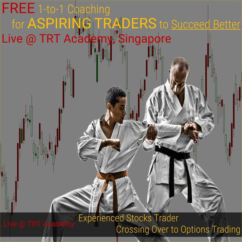 [FREE 1-to-1 Coaching] 2019 April – Experienced Stocks Trader Crossing Over to Options Trading