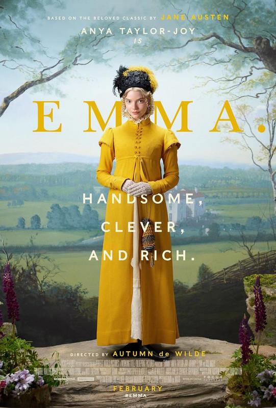 Poster Film Emma 2020