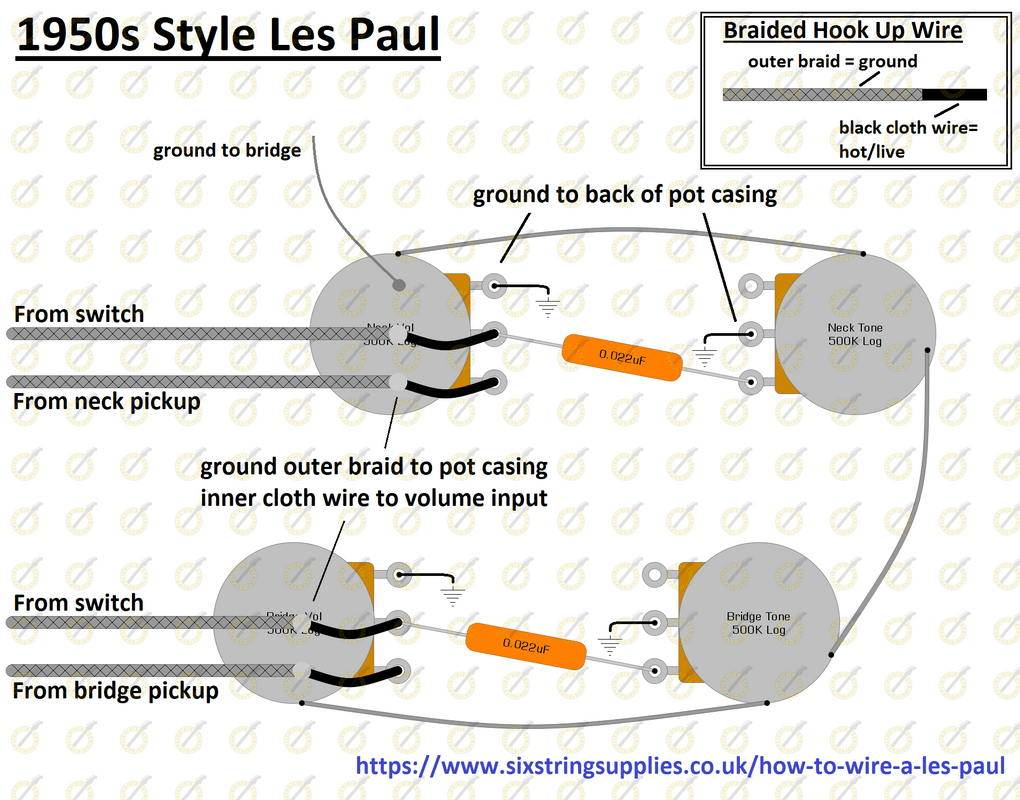 hight resolution of 50s les paul wiring diagram easy wiring diagam for 50s style les paul