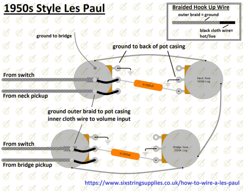 small resolution of 50s les paul wiring diagram easy wiring diagam for 50s style les paul
