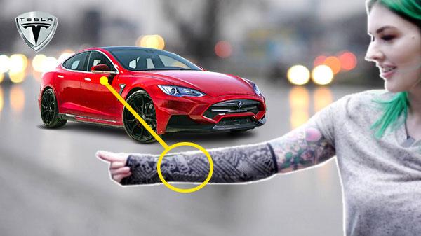 memuatnaik tag RFID pada lengan