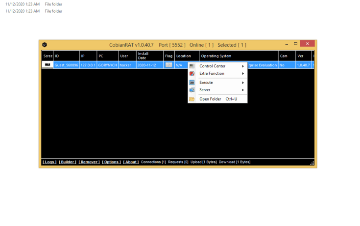 CobianRAT v1.0.40.7 + Tutorial