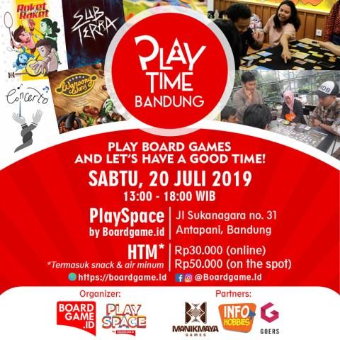 poster playtime juli
