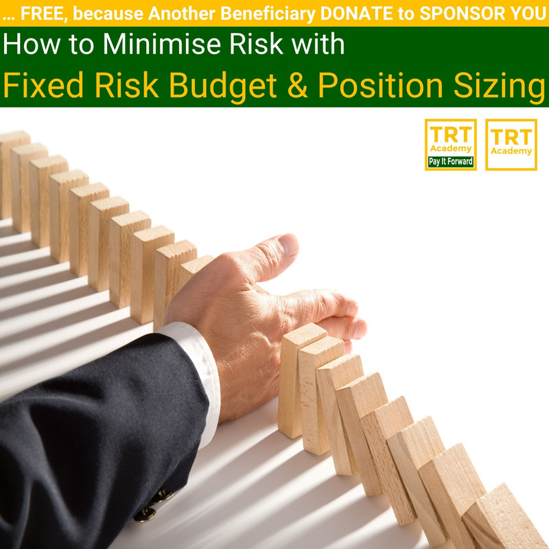 Yes! Send Me the Video – How to Minimise Risk with Fixed Risk Budget & Position Sizing