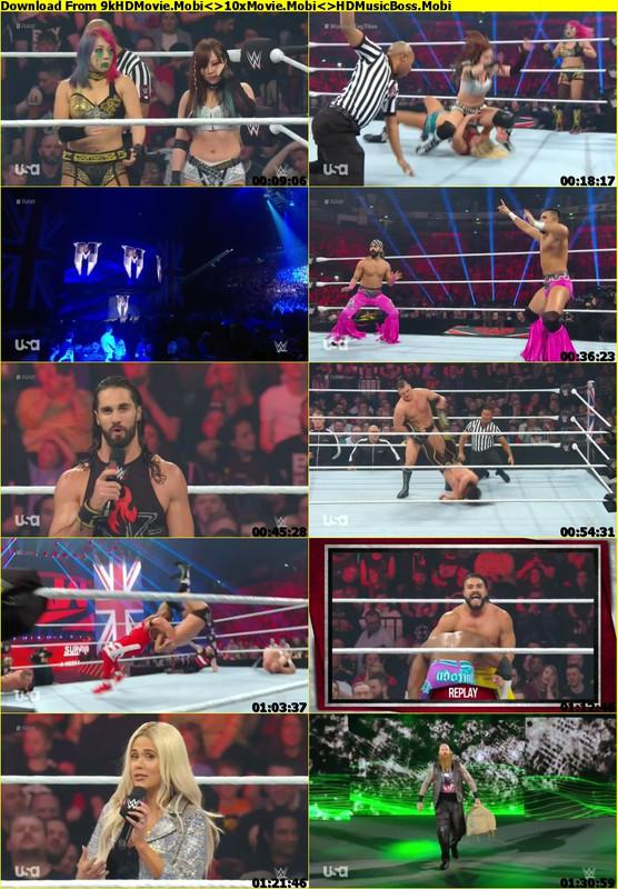 WWE Monday Night Raw 11th November 2019
