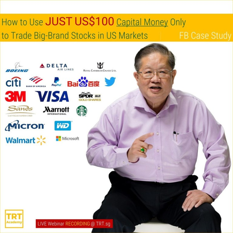 Yes… I Want to Improve My Trading Outcome. Send Me This eLearning Video! – 2020 April How to Use JUST US0 Capital Money Only to Trade Big-Brand Stocks in US Markets – FB Case Study