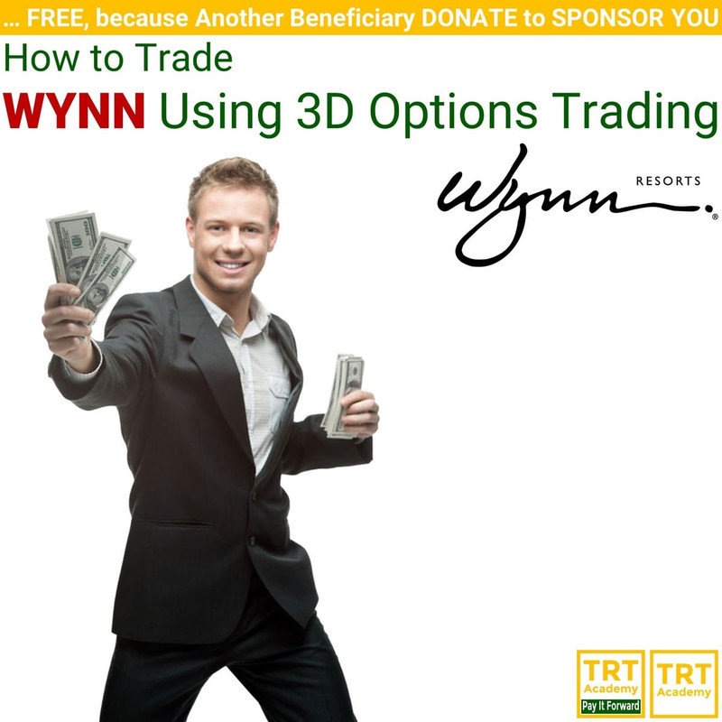 Yes! Send Me the Video – How to Trade WYNN Using 3D Options Trading