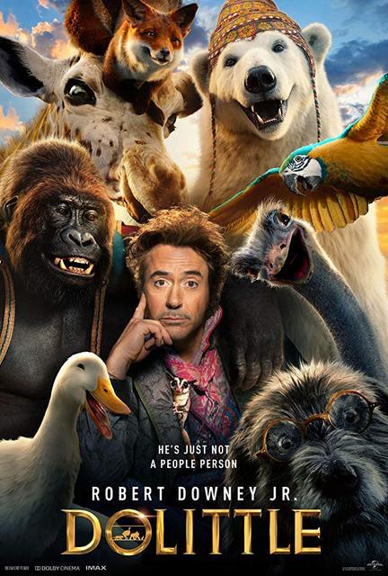 Dolittle 2020 Movie Poster