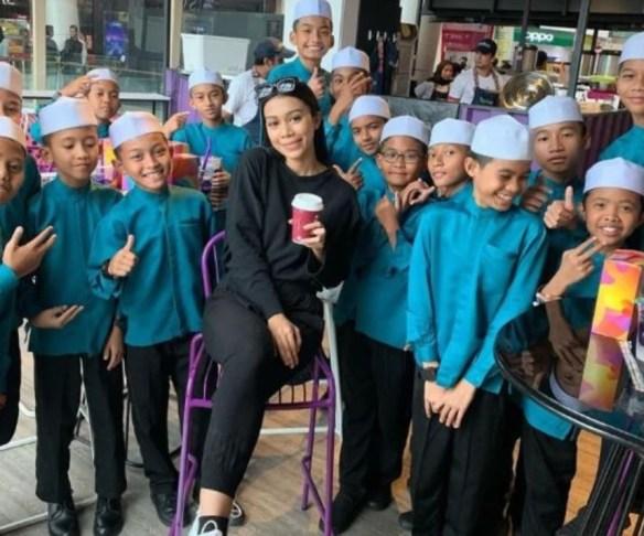 sharifah sakinah pelajar tahfiz tengok wayang