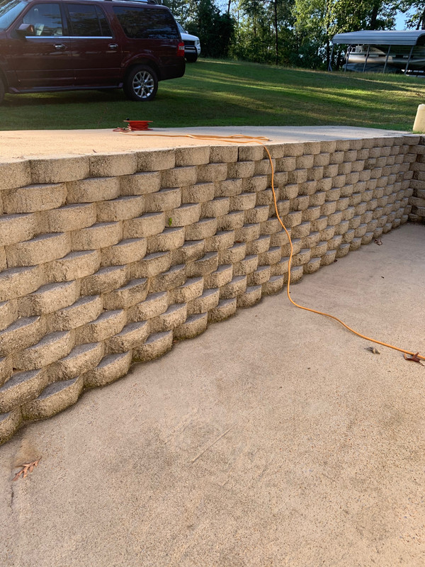 Retaining Wall Bricks Home Depot : retaining, bricks, depot, Backyard, Ideas, Forum
