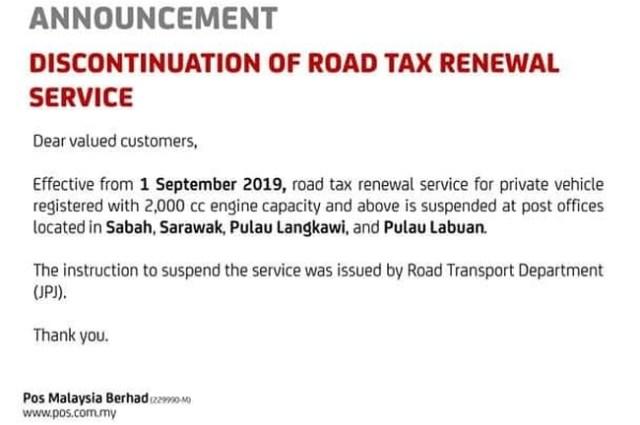 Kementerian pengakutan akan kaji semula