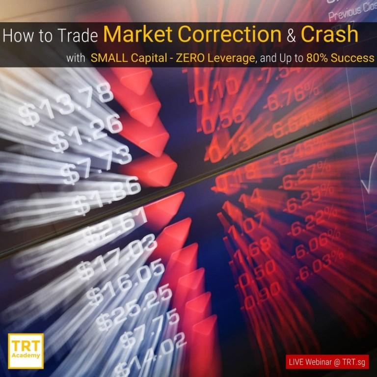 22 October – [LIVE Webinar @ TRT.sg]  How to Trade Market Correction & Crash