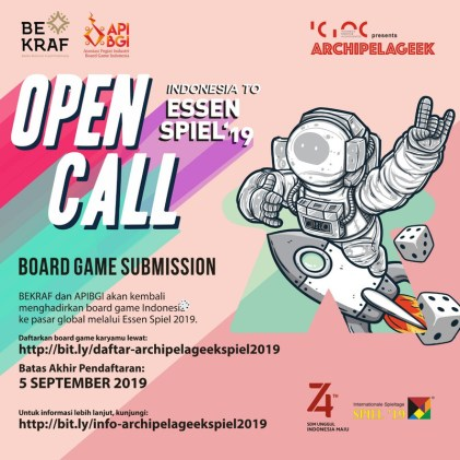 Poster OPEN CALL 2019