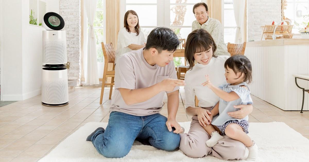 Máy lọc LG Puricare 360 với bộ lọc SafePlus ưu việt – Thanh lọc không khí cho mùa hè oi bức