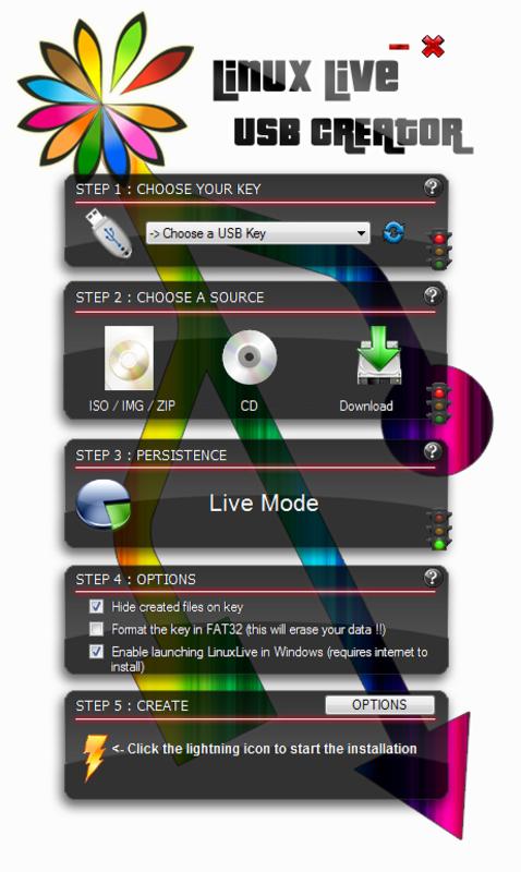 LinuxLive USB Creator 2.8.6