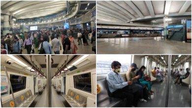 दिल्ली मेट्रो का कैसा रहा साल 2020…?? :  देखिये 4 तस्वीरों में…!