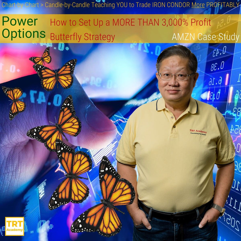 Yes… I Want to Improve My Trading Results – 2019-02 – Power Options – How to Set Up a MORE THAN 3,000% Profit Butterfly Strategy – AMZN Case Study