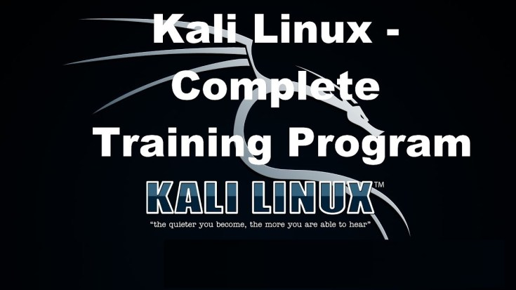 Kali Linux – Complete Training Program from Scratch