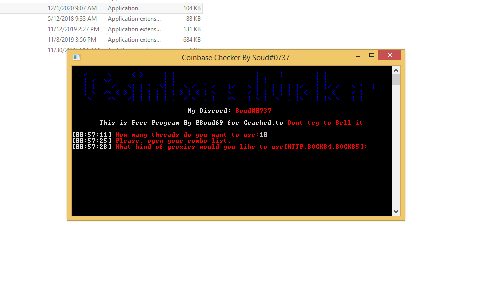Coinbase wallet stealer