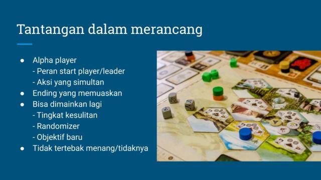 tantangan merancang board game kooperatif