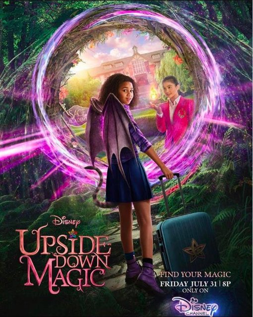 Upside-Down Magic 2020 Movie Poster
