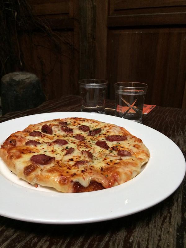 pizza dalam pinggan
