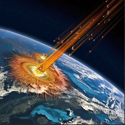 The great Asteroid strike that rocked the world