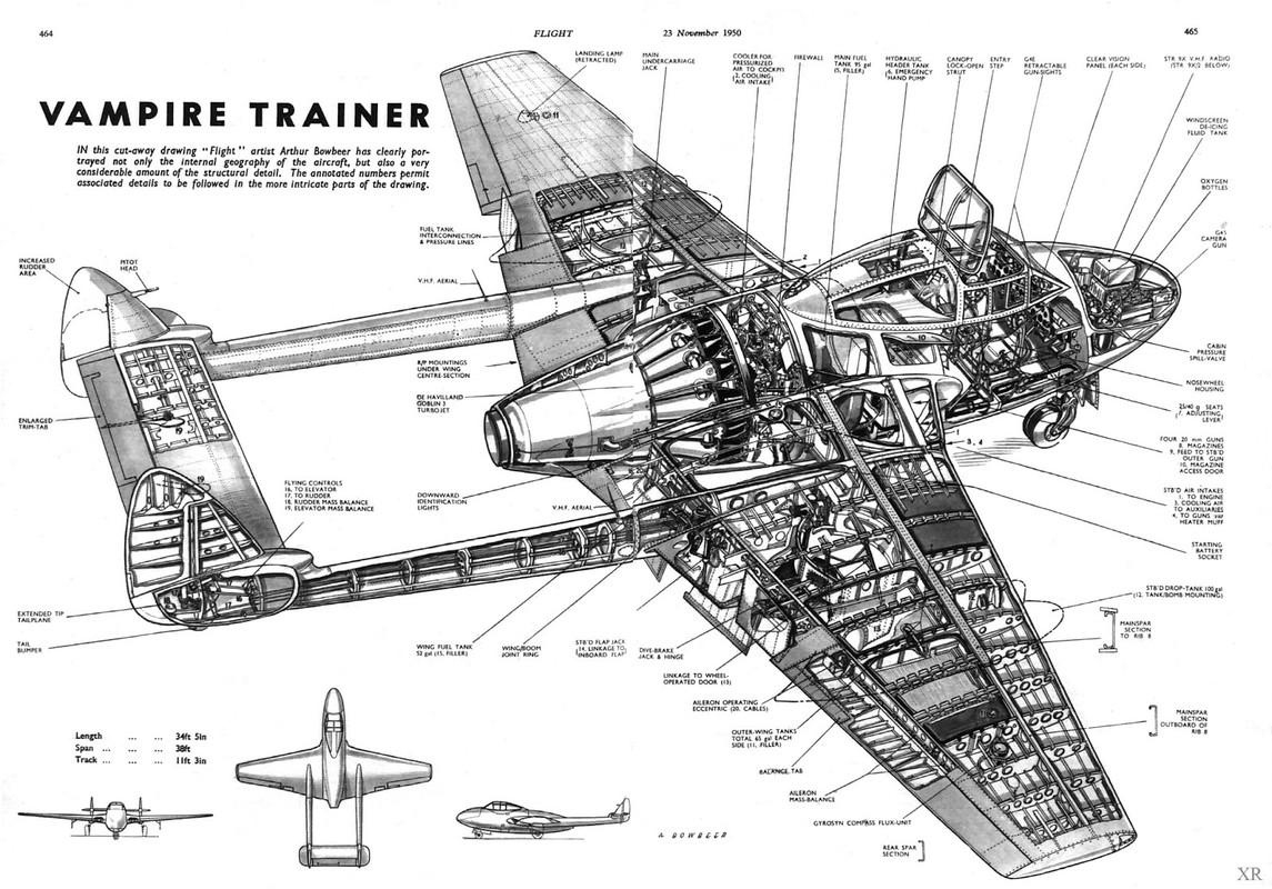 De Havilland Vampire T 11