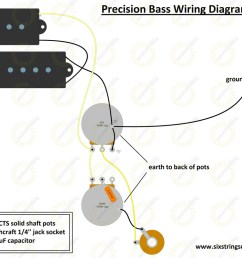 wiring diagram for fender precision bass [ 1019 x 800 Pixel ]