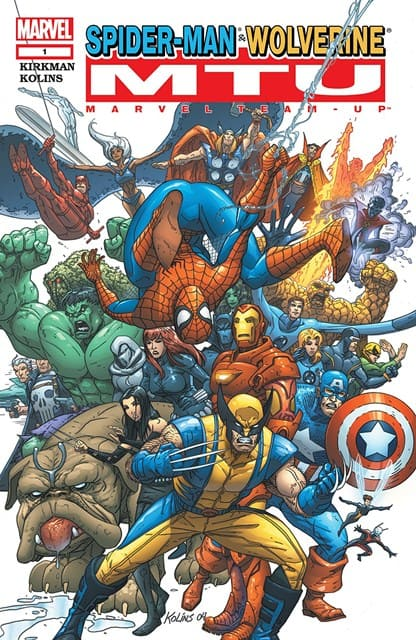 portada comic marvel team up vol 3