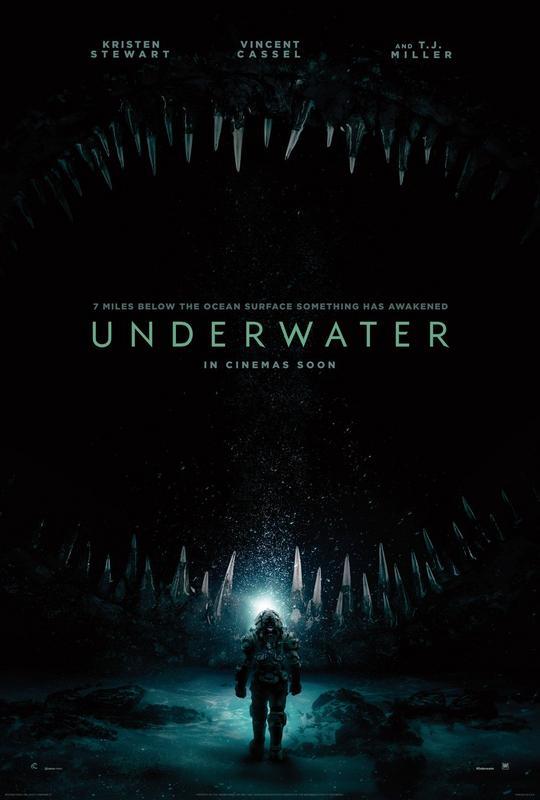 Poster Film Underwater