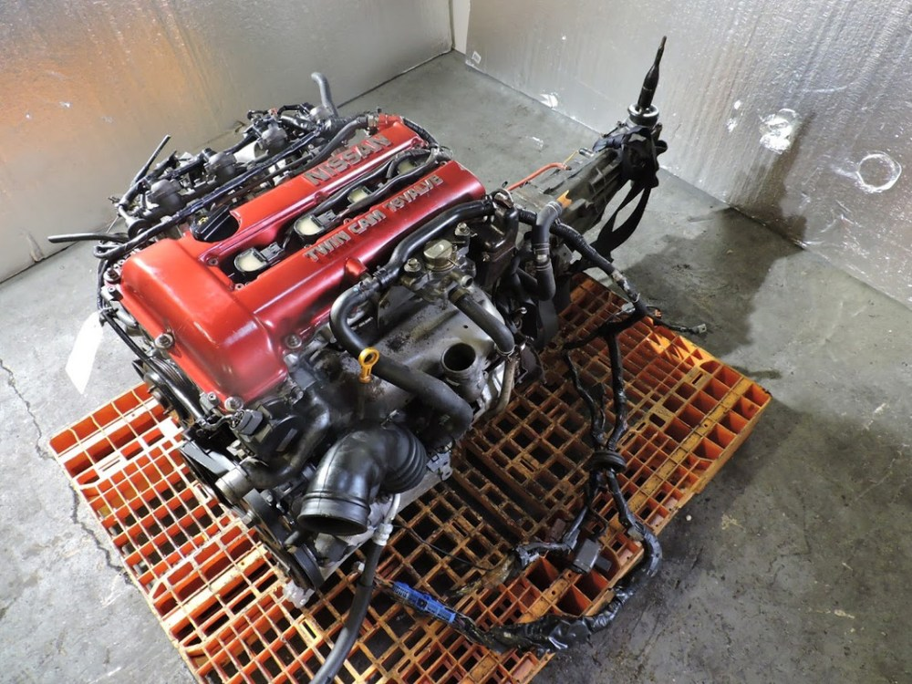 medium resolution of details about 89 to 94 nissan silvia s13 turbo engine 5 spd trans jdm sr20det free shipping
