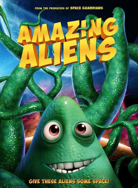 Amazing Aliens 2019 Movie Poster