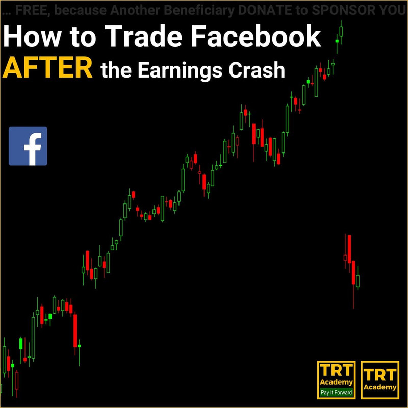 14 August 2018 – How to Trade Facebook AFTER the Earnings Crash