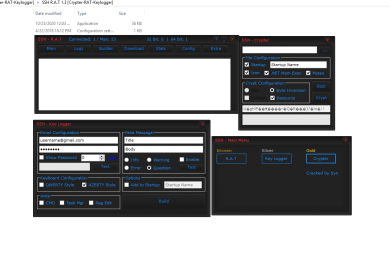 SSH Rat Keylogger Crypter 3 in 1
