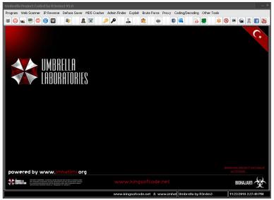 Umbrella Project 2012 Hacktools Ultra