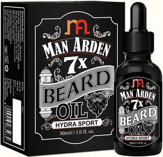 Man Arden 7X Beard Oil 30ml (Hydra Sport), best beard oil for patchy beard in India